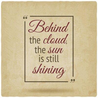 Bild Positive Inspiration Zitat Plakat alten Hintergrund