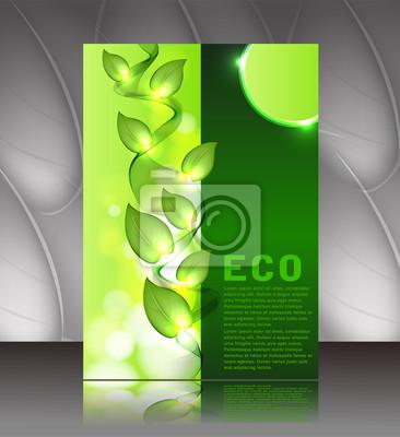 Poster oder Cover ECO Design