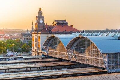 Bild Prague Main Train Station, Hlavni nadrazi, Prague, Czech Republic