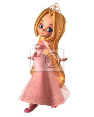 Pretty Pink Princess Toon