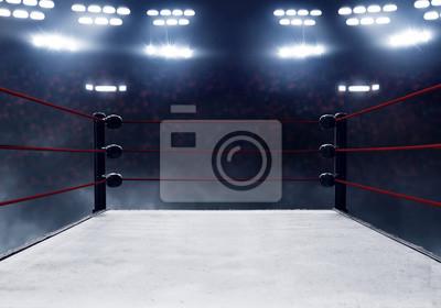 Bild Professional boxing ring
