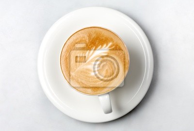 professionellen Barista Kaffeetasse
