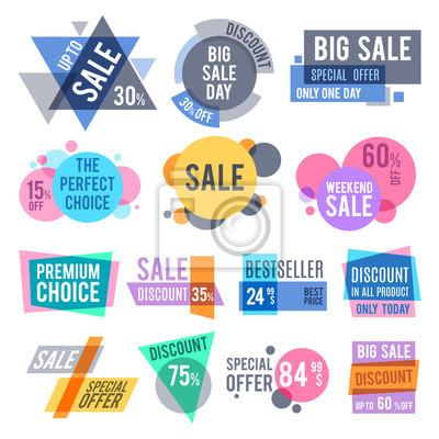 Promotion Abzeichen Beste Angebot Und Preis Aufkleber Und Rabatt