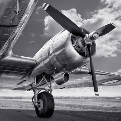 Bild Propeller eines Flugzeugs