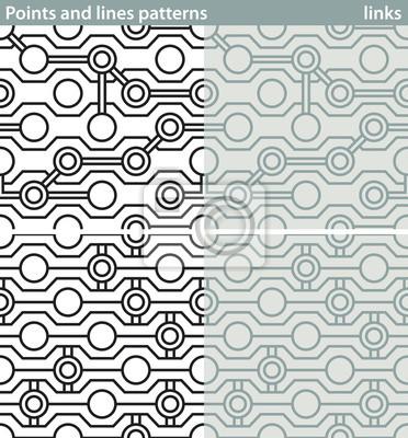 Vector Geometrische Linien Muster Streifen 10