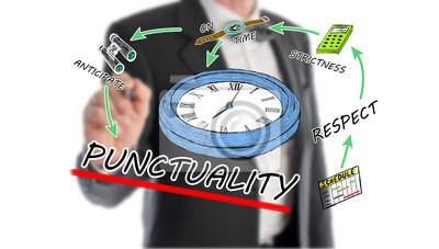 Bild Pünktlichkeit Konzept
