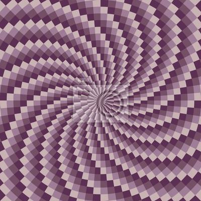 Purple spiral vector background