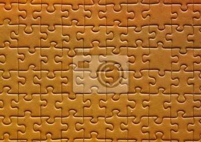 Bild Puzzle in yello . hohe Qualität