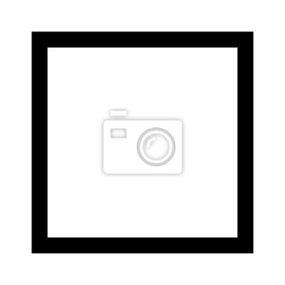 Bild Quadratische 4 mit Seiten versehene geometrische Formlinie Kunstvektorikone für apps und Website