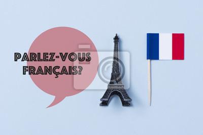Bild question do you speak French? in French