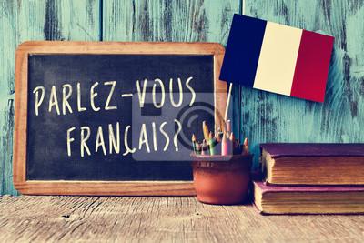 Bild question parlez-vous francais? do you speak french?