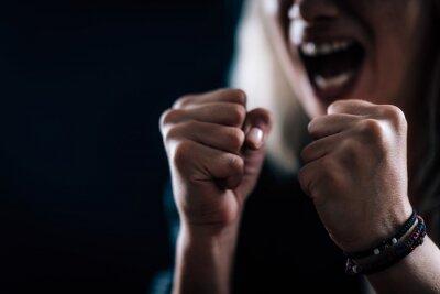 Bild Rage – Portrait of an Angry Woman