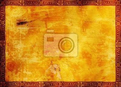 Rahmen mit indianischen traditionellen Mustern