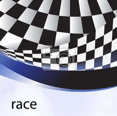 Rasse Flagge