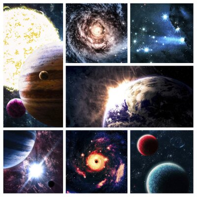 Bild Raum Collage
