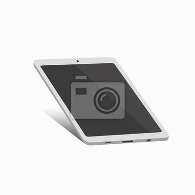 Bild Realistische Vektor-Bild einer Tablette