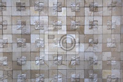 Rechteckige Quadratische Fliesen Marmor Helle Glasur Schwarz