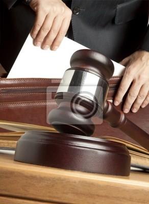 Rechtsanwalt vor Gericht