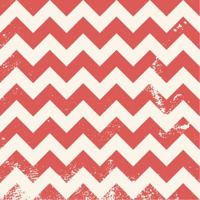 Bild red chevron pattern with distressed texture