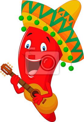 Chili Bilder chili pepper character leinwandbilder bilder frische