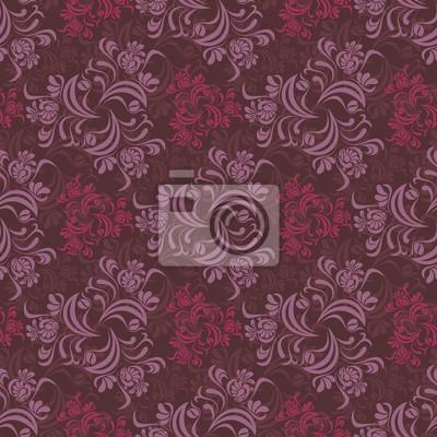 Red Garden Pattern
