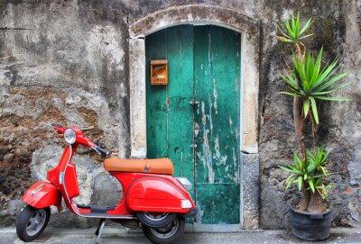 Bild Red scooter