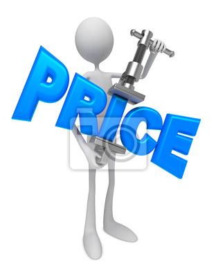 Reduzierung der Preise - Concept.