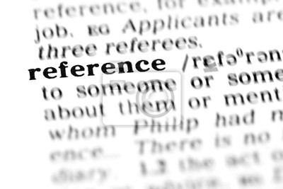 Bild Referenz (das Wörterbuch-Projekt)