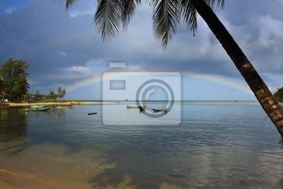 Regenbogen auf Ko Phi Phi Island.