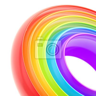 Bild Regenbogen-Streifen abstrakten Hintergrund