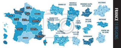 Bild Régions frankreich