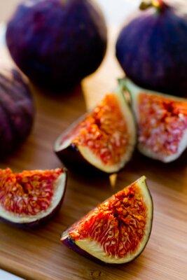 Bild Reife Feige Obst