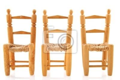 Reihe Stühle Im Wartezimmer Leinwandbilder Bilder Wartezimmer