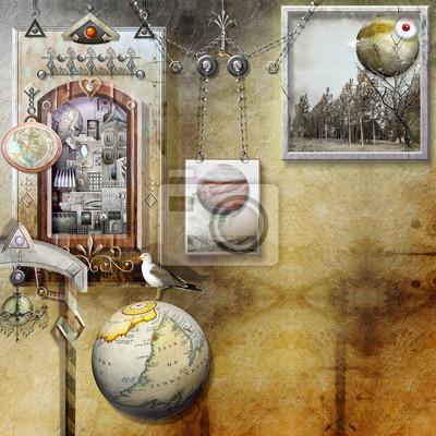Reisenden in dem geschlossenen Raum