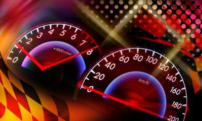 Bild Rennen Hintergrund