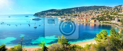 Bild Resort town Villefranche sur Mer. French Riviera, Cote d'Azur, France