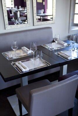 Bild Restaurant, salle, Bistro, Tische, couverts, gastronomie