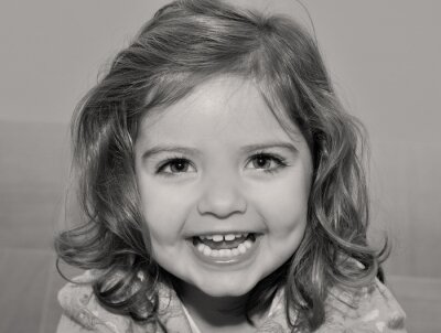 Bild Retrato infantil.