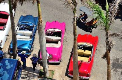Bild Retro cars in Havana.