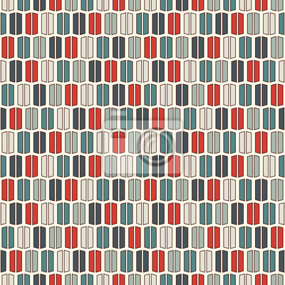 Retro Farben Vertikale Linien Hintergrund Minimalistische Tapete