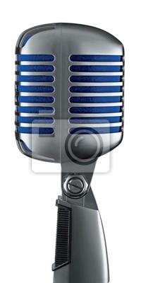 Bild Retro-Mikrofon