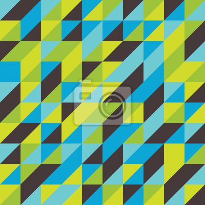 Retro-Mosaik abstrakten Kachelmuster Hintergrund