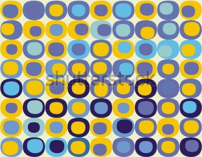 Bild Retro nahtlose quadratisches Muster