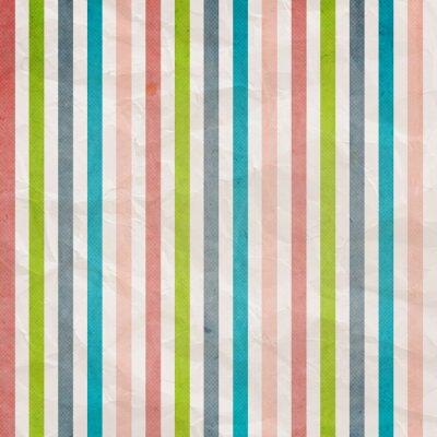 Bild Retro Streifenmuster - Hintergrund mit farbigen rosa, cyan, grau,
