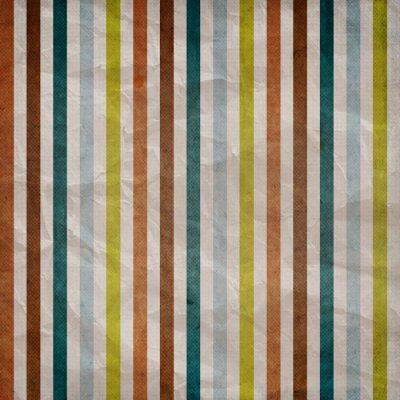 Bild Retro stripe pattern - background with colored brown, blue, grey