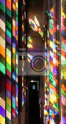 Richter Fenster Im Kolner Dom Leinwandbilder Bilder Rheinland Tour Tourismus Kirchlichen Myloview De