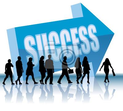 Bild Richtung - Erfolg