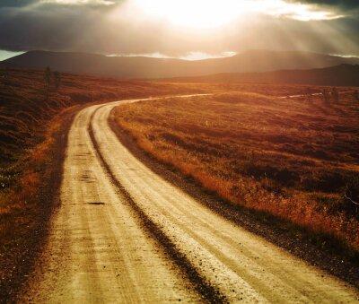 Bild Road in Norwegen