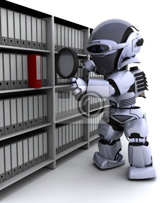 robot filing documents
