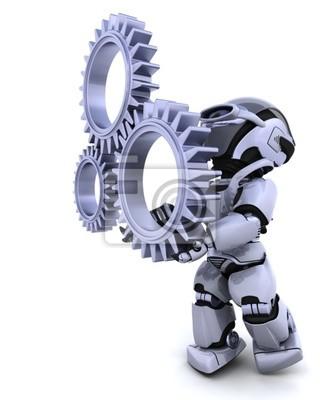 Roboter mit Getriebe